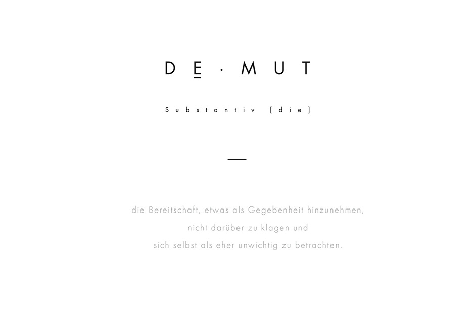clormann design DEMUT 2